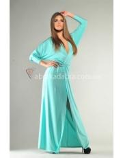 Вечернее платье с разрезом Mua