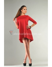 Короткое асимметричное платье Lori