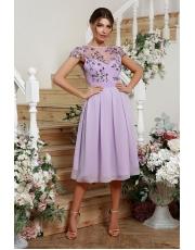 Вечернее платье  длины миди Aisedora