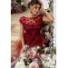 Вечернее платье в пол с градиентом Avgustina