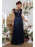 Атласное платье в пол Alevtina