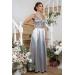 Шикарное платье с декольте Meysi